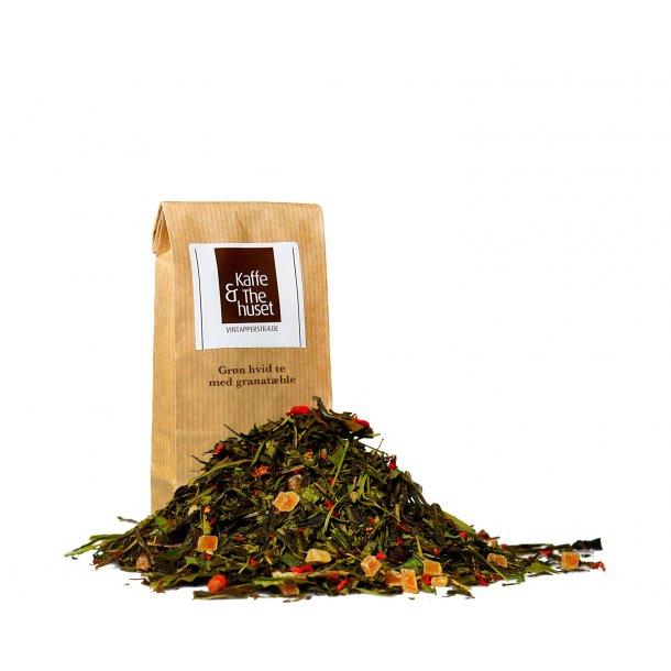 Grøn hvid granatæble te