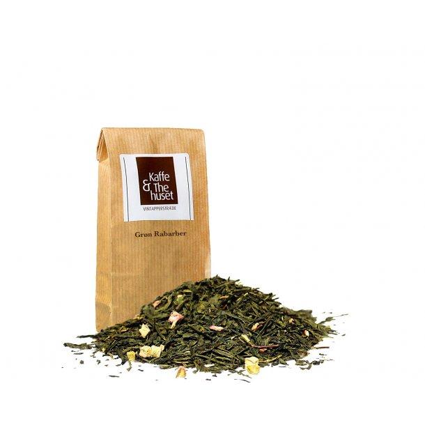 Husets grøn rabarber te